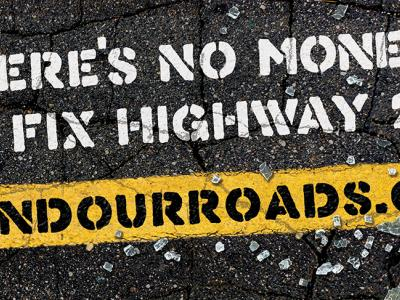 Campaign Billboards - Fund Our Roads