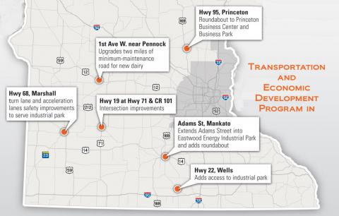 MnDOT Awards $32M in TED Grants.